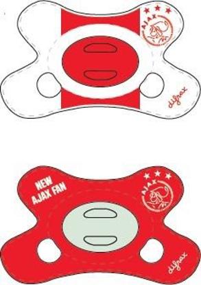 Afbeeldingen van Ajax 2-pack Fopspeen