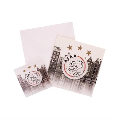 Afbeeldingen van Ajax Giftcard met Magneet (grijs)