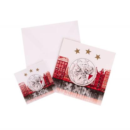 Afbeeldingen van Ajax Giftcard met Magneet (rood)