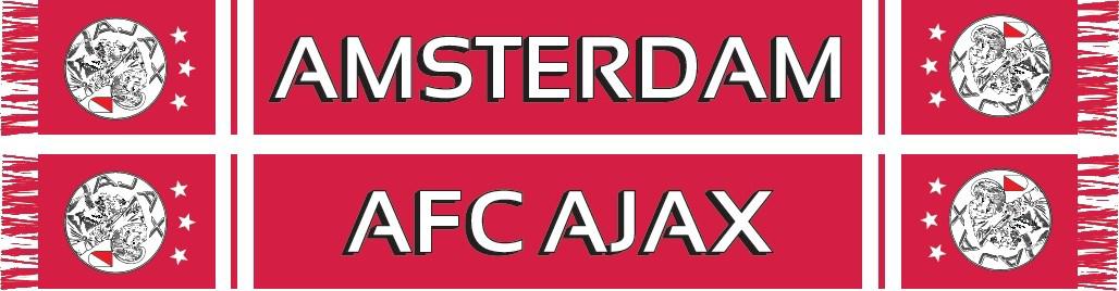 Afbeeldingen van Ajax Sjaal AFC - Oud Logo