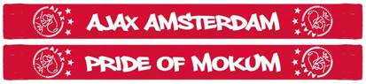 Afbeeldingen van Ajax Sjaal Amsterdam - Pride of Mokum