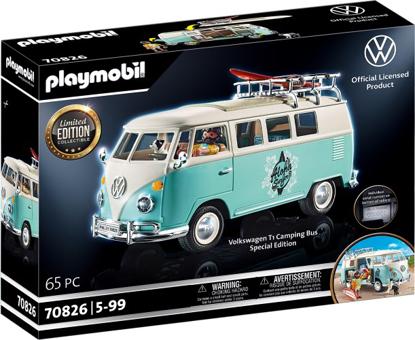 Afbeeldingen van Playmobil Volkswagen T1 campingbus - Special Edition (70826)