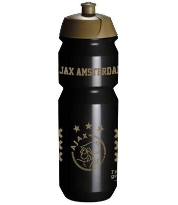 Afbeeldingen van Ajax Bidon - zwart/goud